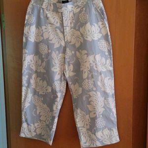 Women's Wide Leg Capri pants